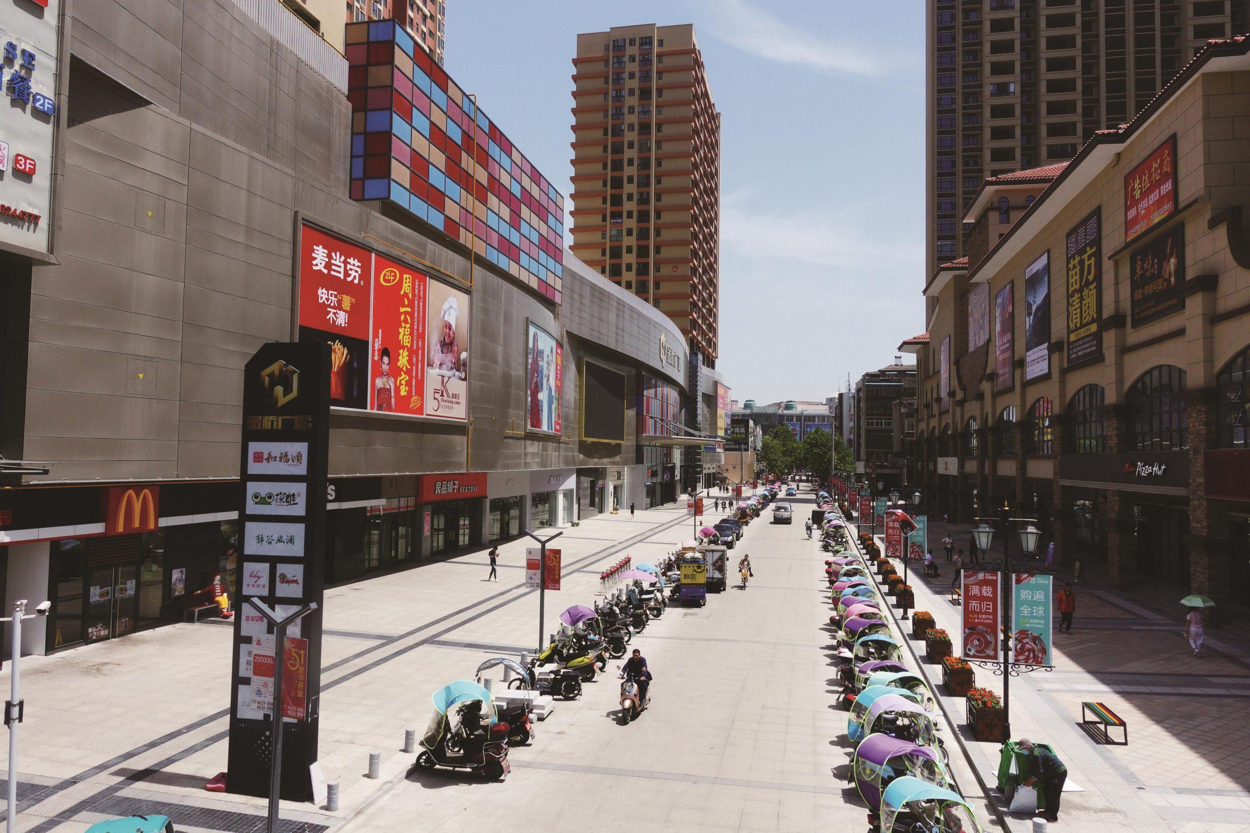 潜江市园林北路街道改造工程