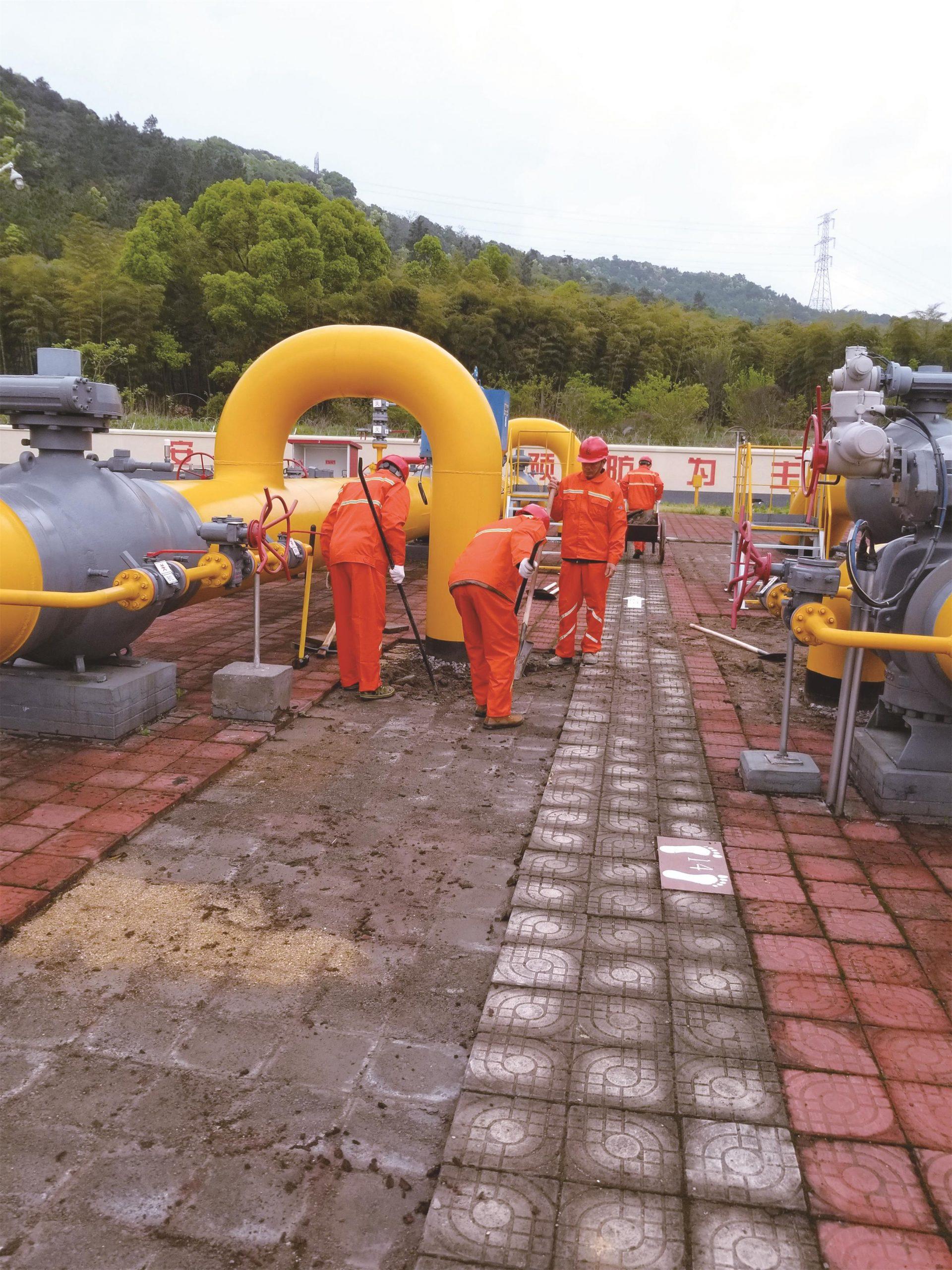 天然气分公司川气东送管道增压工程(一期)武汉压气站工程(二标段)